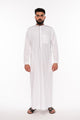 White Piping Kids Jubba - jubbas.com