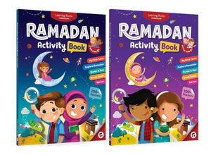 Ramadan Activity Book Set (Big & Little Kids) - jubbas.com