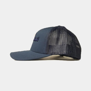 Navy On Navy Salam/Peace Arabic Cap - jubbascom