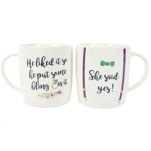 SHE SAID YES MUGS