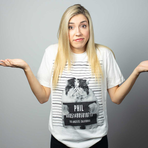 Phil Mug Shot T-Shirt