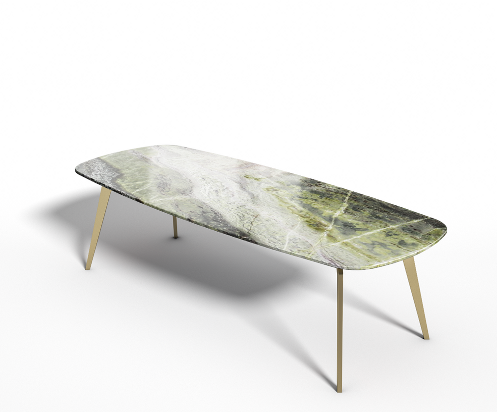 Irish Green marmer - Eettafel Celio