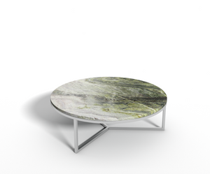 Irish Green marmer - salontafel rond