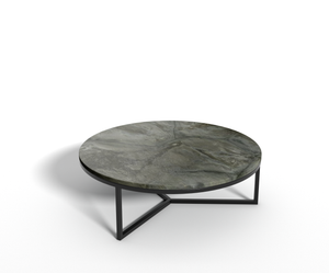 Turtle Illusion marmer - salontafel rond