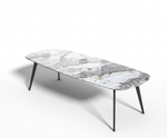 Invisible Grey Gold marmer - Eettafel Celio
