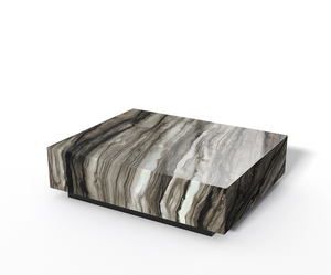Sequoia Brown marble table