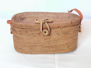 Rattan Brown Sundung Bag