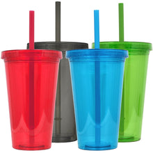 Customize your own Tumbler with Straw