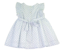 Toddler's & Little Girl's  Smocked Dress in Plumeti fabric