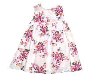 Girls' Floral Swing Dress Spring Summer Beach Dress