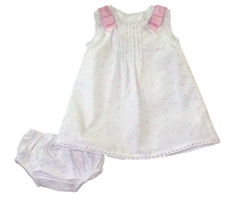 Pink Bows Heirloom Set