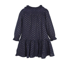 Girls Long Sleeve Dress Cotton Casual Dress Toddler Girl Skater Spring Dress