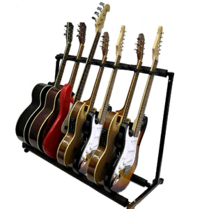 7 Guitar Stand- Holds 7 Guitars