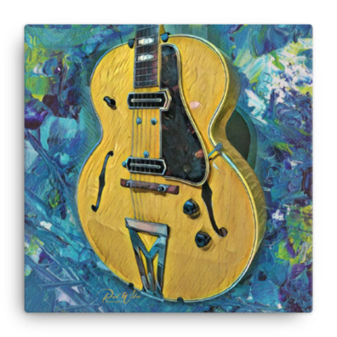 Gibson ES-250 Electric Spanish Guitar Canvas Wall Art