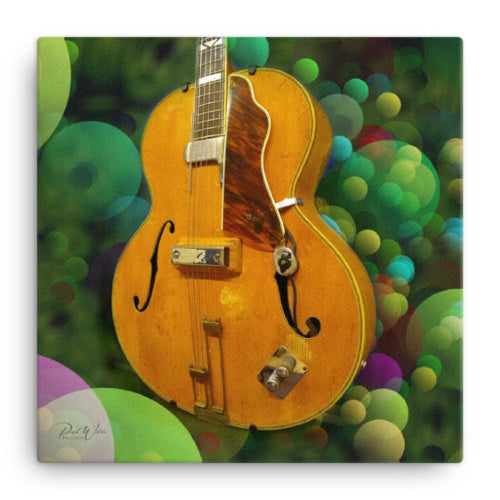 Epiphone Emperor Archtop Guitar- 1941 Canvas Wall Art