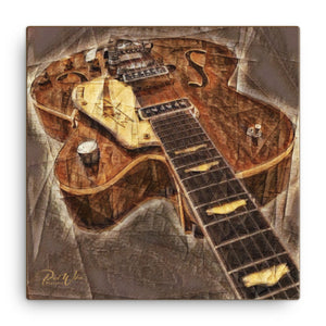 Gretsch Guitar Canvas Wall Art