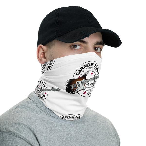 Neck Gaiter with Garage Band Guitars Logo