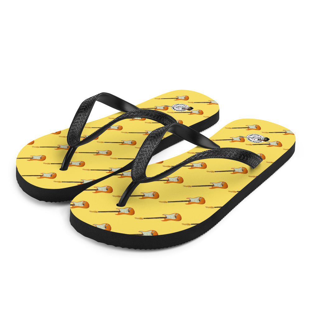 Colorful Strat Style Guitar Flip-Flops