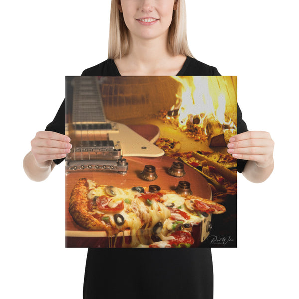 What's For Dinner Canvas Wall Art
