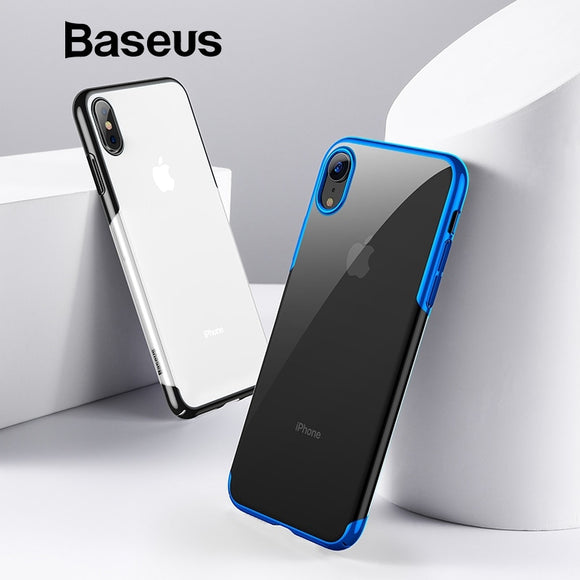 94d80b66c7a80a Baseus For iPhone X Xs Case Luxury Plating Hard Plastic Phone Case For  iPhone Xs XR