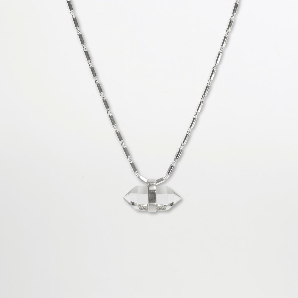 Crystalised Necklace XXS Cornelia Webb Necklace Crystalised, Necklace, SS21, Sterling Silver, Stone