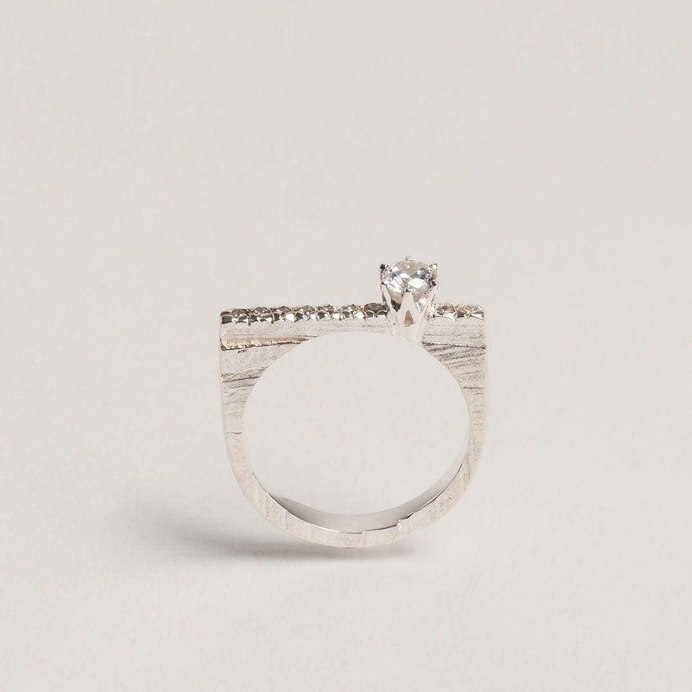 Slized Highlighted Ring - Customized for Josephine Cornelia Webb Rings