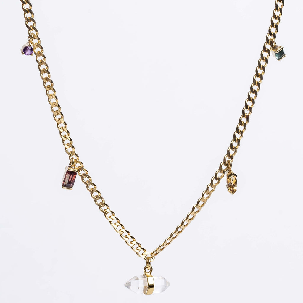 Warped Necklace L Cornelia Webb Necklace Chain, Chain necklace, Gold Plated Sterling, Necklace, Pendant