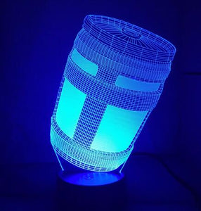 3D Color Changing CHUG JUG Desk Lamp!