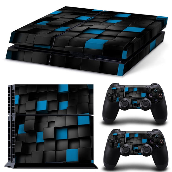 3D Foam Blocks Custom PS4 Design