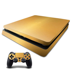 Solid Gold Plated Custom PS4 Design (LIMITED STOCK)