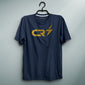 CR7 Navy Tee (Golden Print)