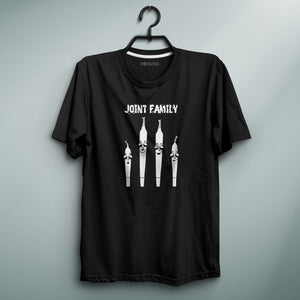 Joint Family Black Tee