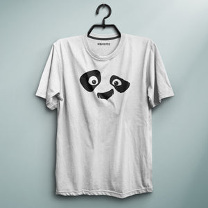 Concerned Po White Tee