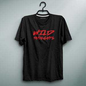Wild Thoughts Black Tee
