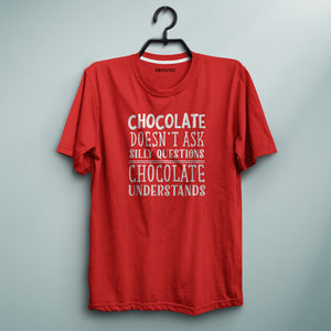 Chocolate is Love Red Tee