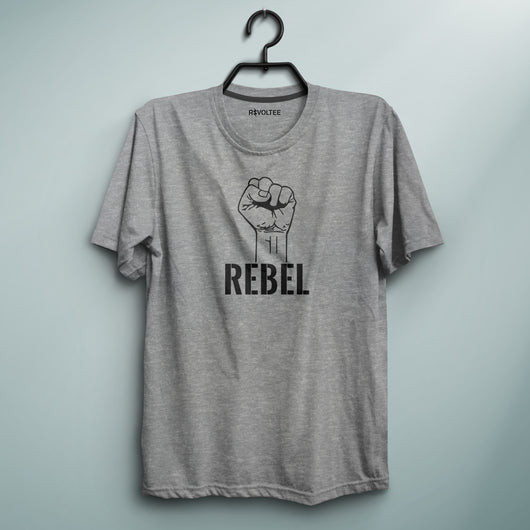 Rebel Gray Tee