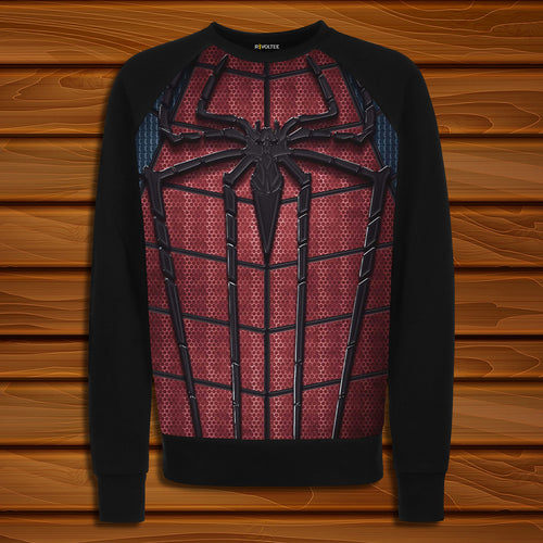 Spider-M 04 Digital Printed Sweatshirt