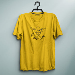 Goat Life Yellow Tee