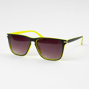 Neon Black Party Sunglasses With Protective Case