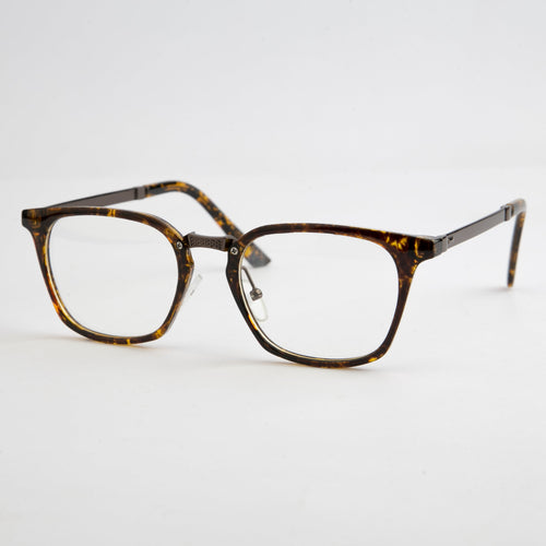 Brown Vincent View Spectacles With Protective Case