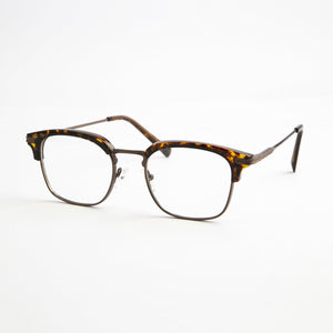 Brown Printed Spectacles With Protective Case