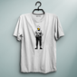 Smiley Soldier White Tee