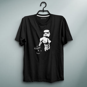 Star Trooper Black Tee