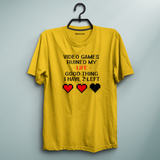 2 Lives Left Yellow Tee