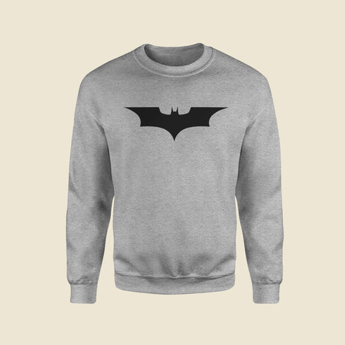 Bat Signal Grey Sweatshirt