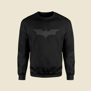 Bat Signal Black Sweatshirt