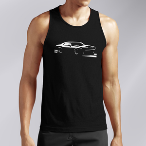 Dodge Charger Black Tank Top