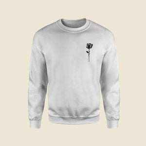 Forbidden Love White Sweatshirt