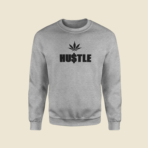 HU$TLE Grey Sweatshirt