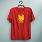 Iron M Helmet Red Tee